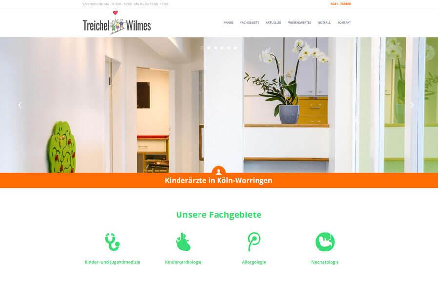Website Arztpraxis: Ein Kunde der 5KÖLN80 Internetagentur