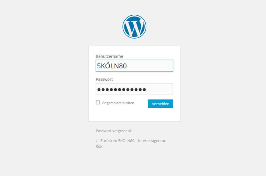 5KÖLN80 - WordPress Agentur in Köln