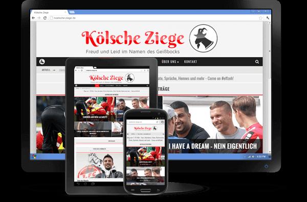 Responsive Design - Blog Kölsche Ziege