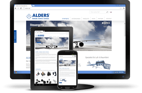 Responsive Design - Website Alders