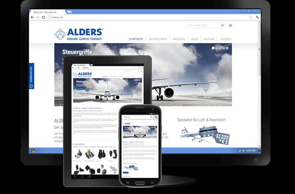Responsive Design - Website Alders